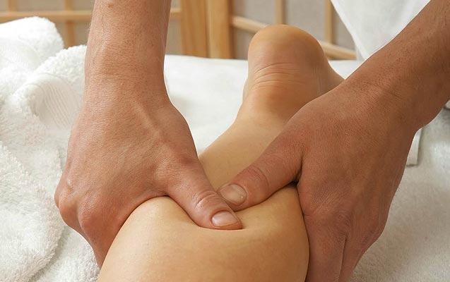 El masaje circulatorio como remedio alternativo