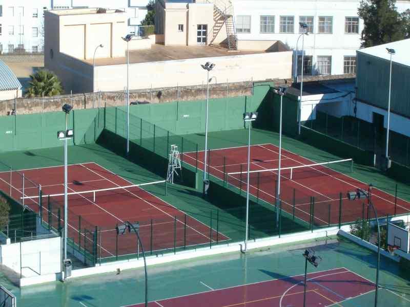 La pista de tenis municipal