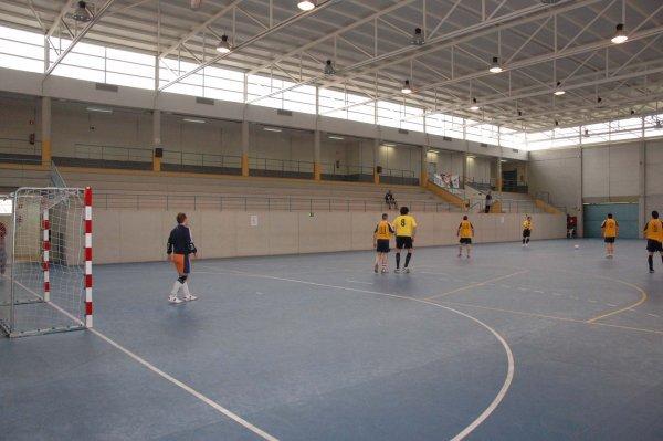 La pista municipal de fútbol sala