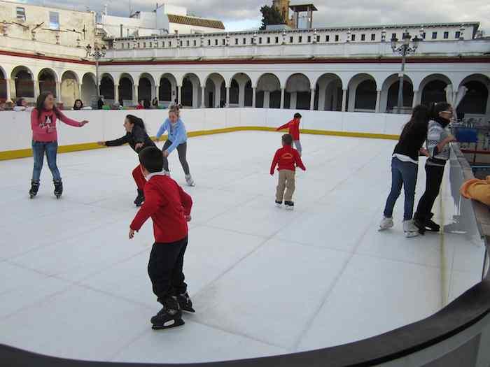La pista municipal de patinaje