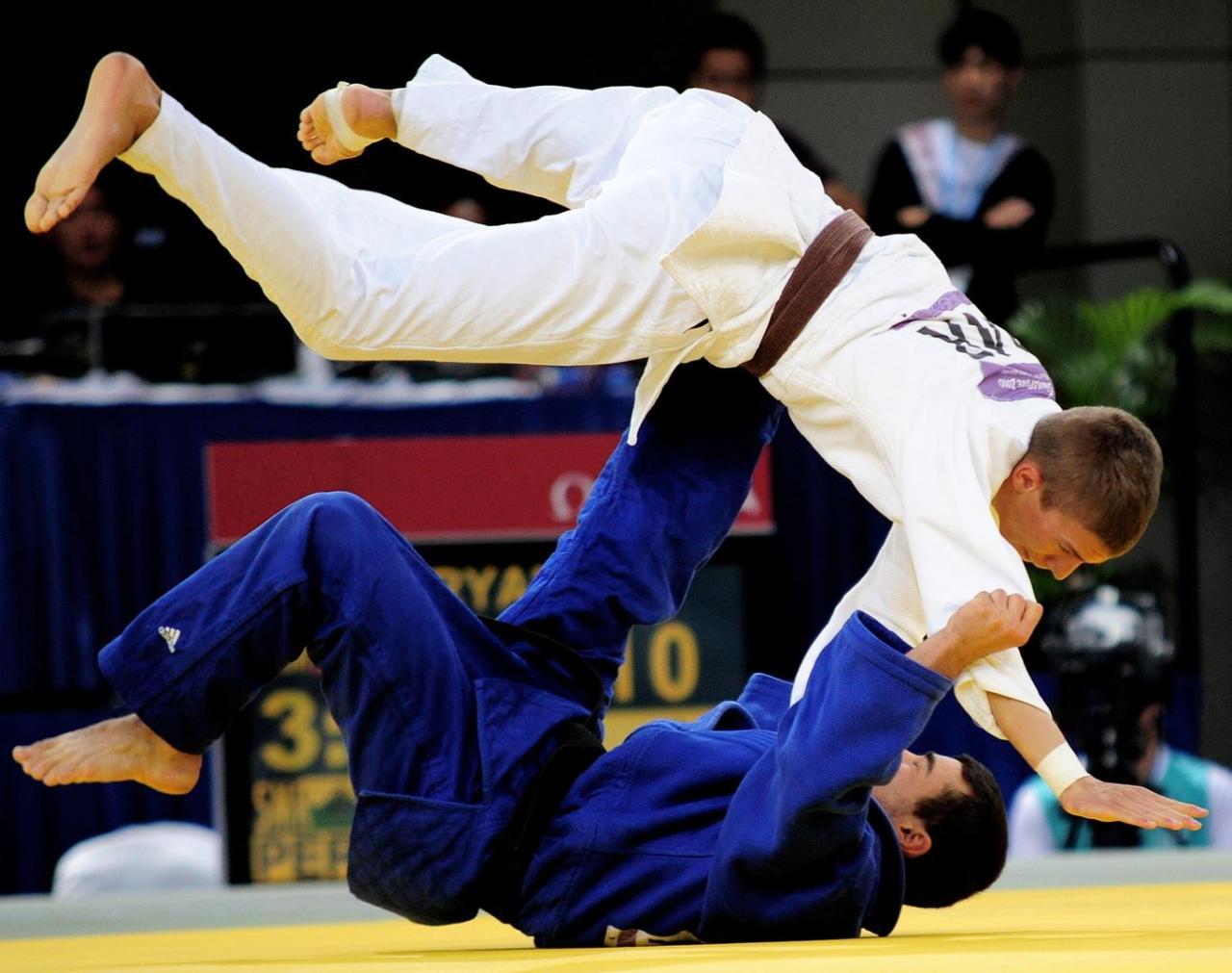 El judo como deporte educativo